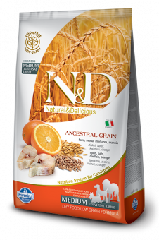 N&D Low Grain Goldfish & Orange Adult Medium
